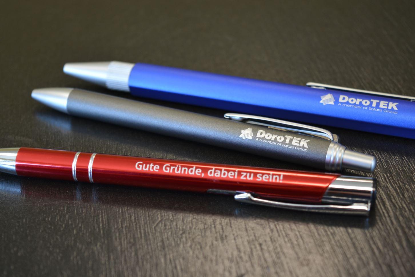 Laserbeschriftung - Kugelschreiber